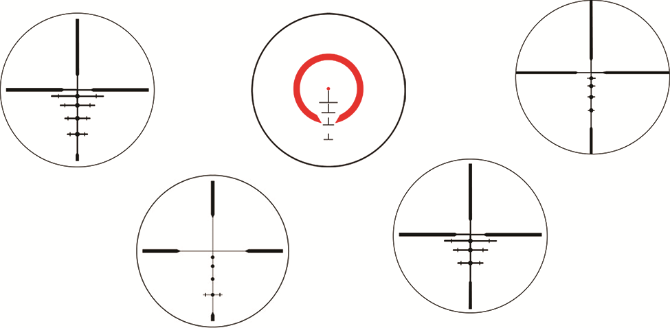 Scope reticles
