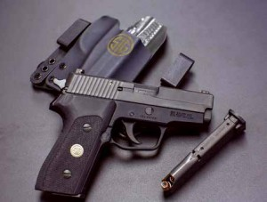 Updating the P225, Sig Sauer will introduce the P225-AI, with a single stack, eight-round magazine.