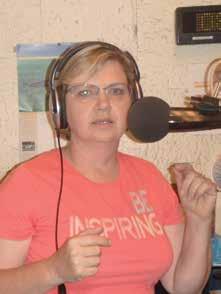 "Amanda Suffecool, host of ""Eye On The Target"" radio in Northeastern Ohio."