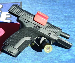 The Walther PPQ in .45ACP proved to be as easy to handle as author's fellow trainer claimed.