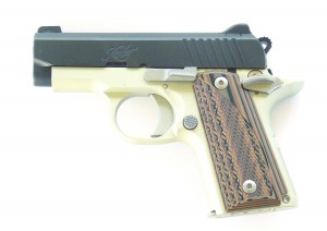 This version of the Kimber Micro, designated the Advocate, is an excellent .380 ACP pistol.
