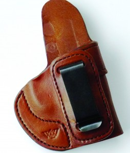 The Wright Leatherworks holster is quite simply one of the best designed and executed holsters in the author's experience.