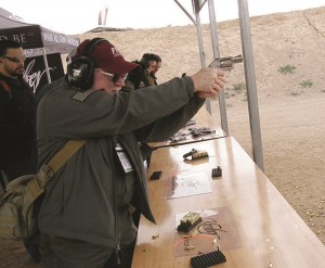 Tom Walls found Kimber's K6S revolver very easy to control with a proper high grip, even with .357magnum ammo.