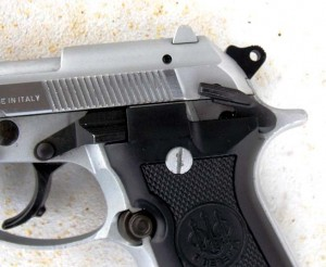 The Beretta safety works well for every hand size.