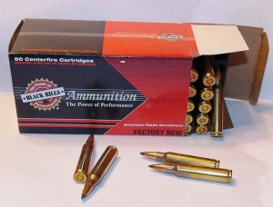 Modern .223 ammunition offers good wound potential and isn't likely to penetrate the threat or a wall.