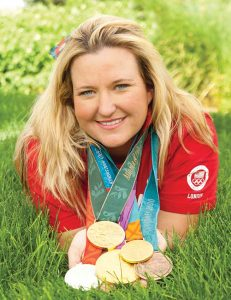 Kim Rhodes is looking for a sixth Olympic medal in Rio de Janeiro