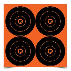 """See your hits from a distance with Birchwood Casey's """"Burst""""targets."""