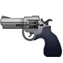 """Emoji"" of realistic looking gun being replaced by Apple and new ""toy"" version that replaces it.  Anti-gunners have claimed it as a gun control ""victory"" in a year that has seen them try and fail at legislative approaches."