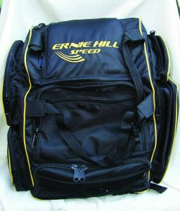 Ernie Hill's BackPack Pro1, this range bag makes it easy to carry your gear and keep it all organized.