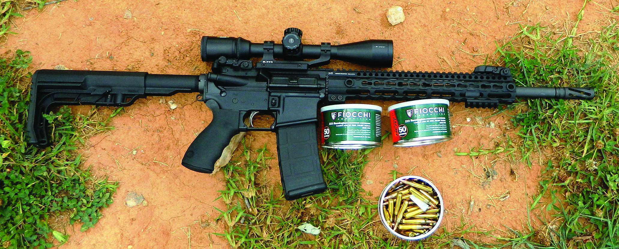 ammunition choices for 223 remington